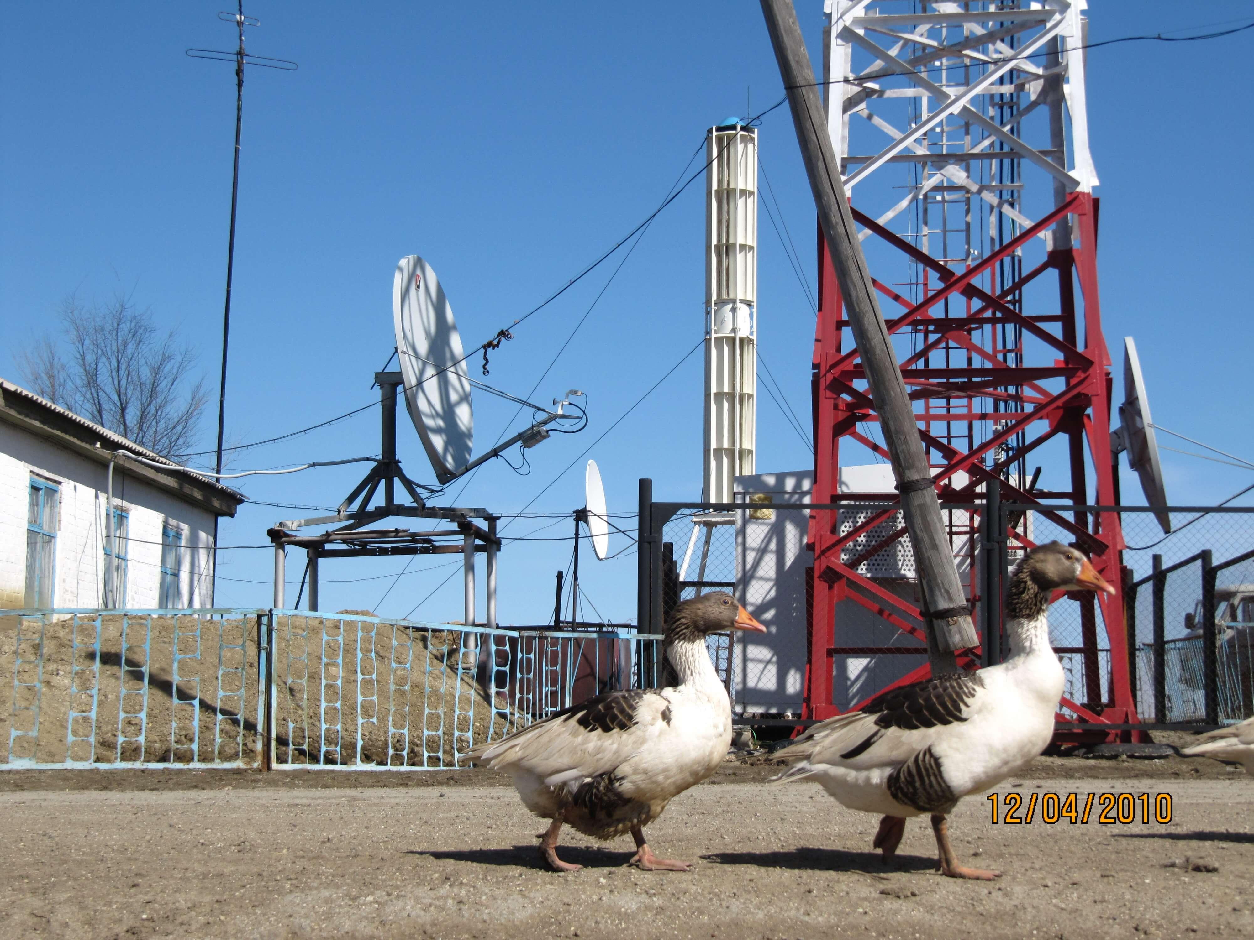 Telecommunications antennas. Power supply
